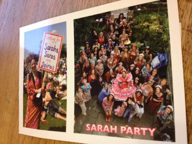 sarah party