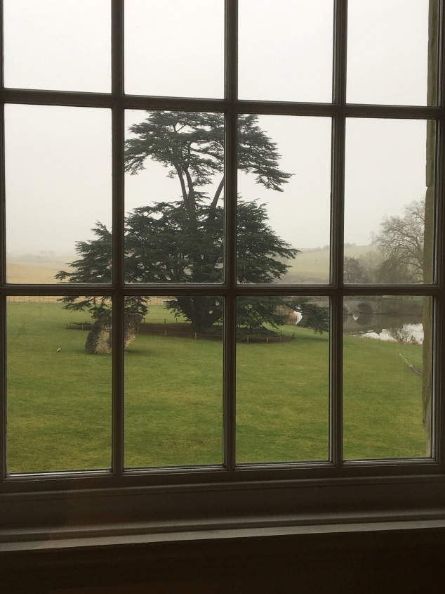 The view from the Compton Verney Women's Library